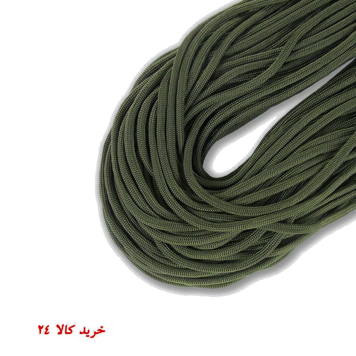 طناب پاراکورد آمریکایی سافت رنگ سبز
